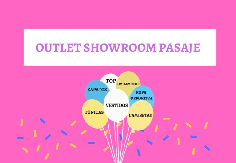 Outlet de ropa Showroom Pasaje